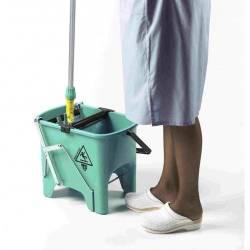Ведро для уборки с отжимом SQUIZZY 15л (Зеленого цвета) 0V006410 TTS