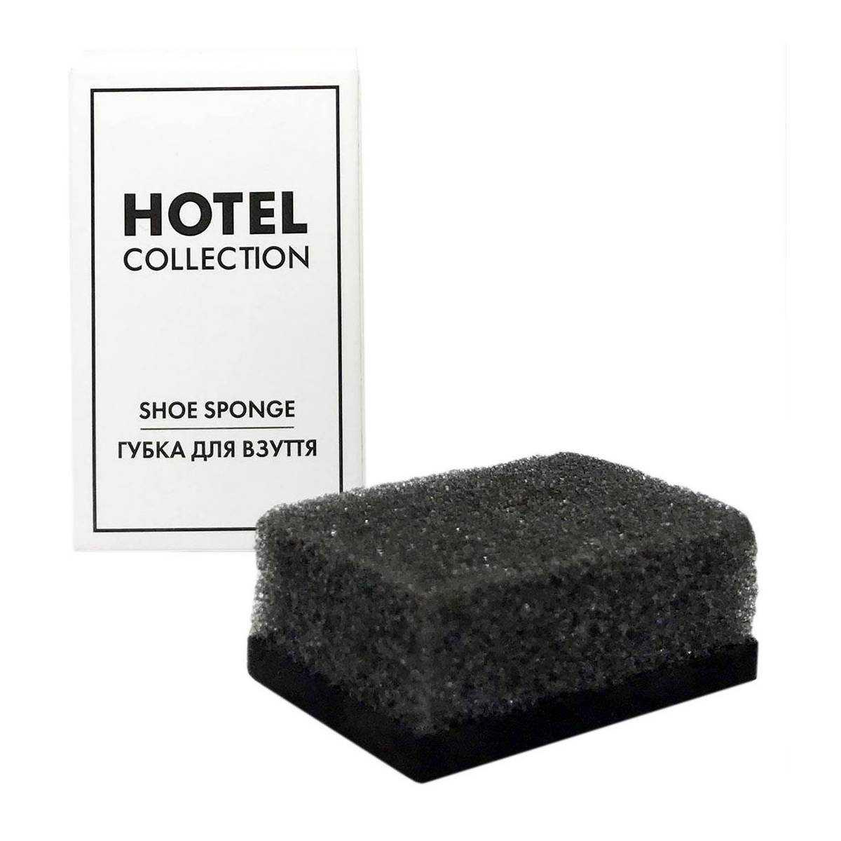 Губка для обуви в п/е и картонной коробочке SS-HC HSG