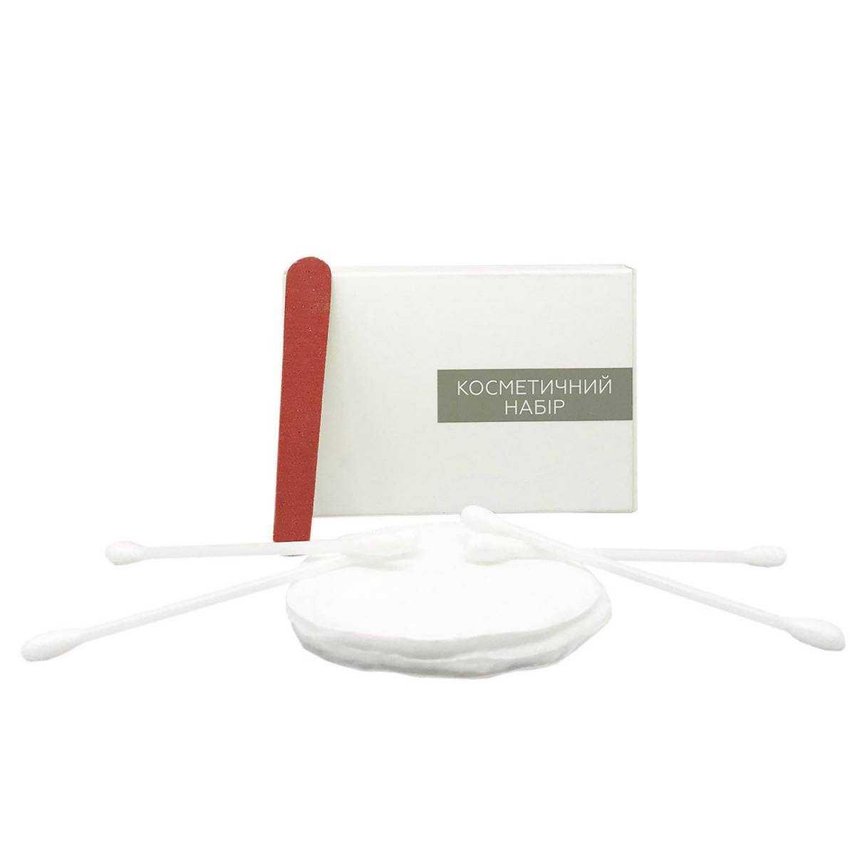Косметический набор для гостиниц VIP в п/е и картонной коробочке VKL-M HSG