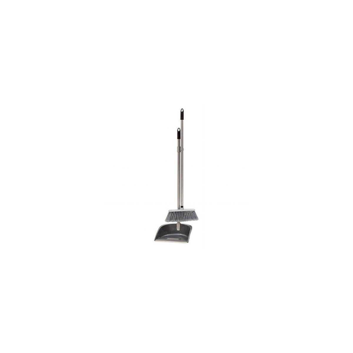Набор для уборки совок серий + щетка EASY 12.00795.0012.12.071 GREY APEX - Fratelli Re SpA