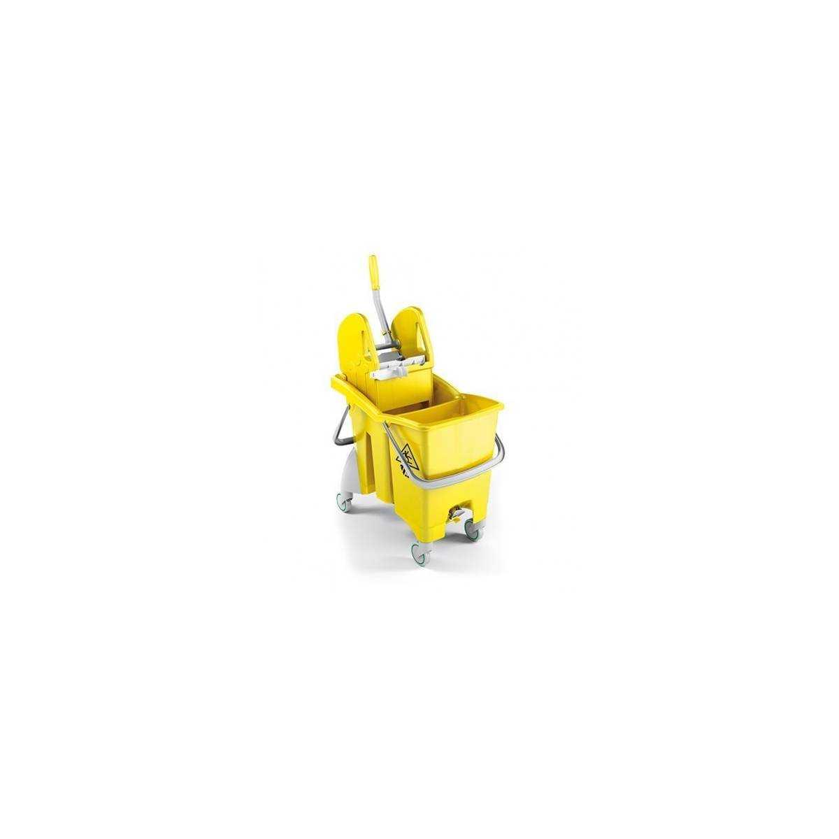Ведро с отжимом ACTION PRO 30л (Желтого цвета) 0G006485 TTS