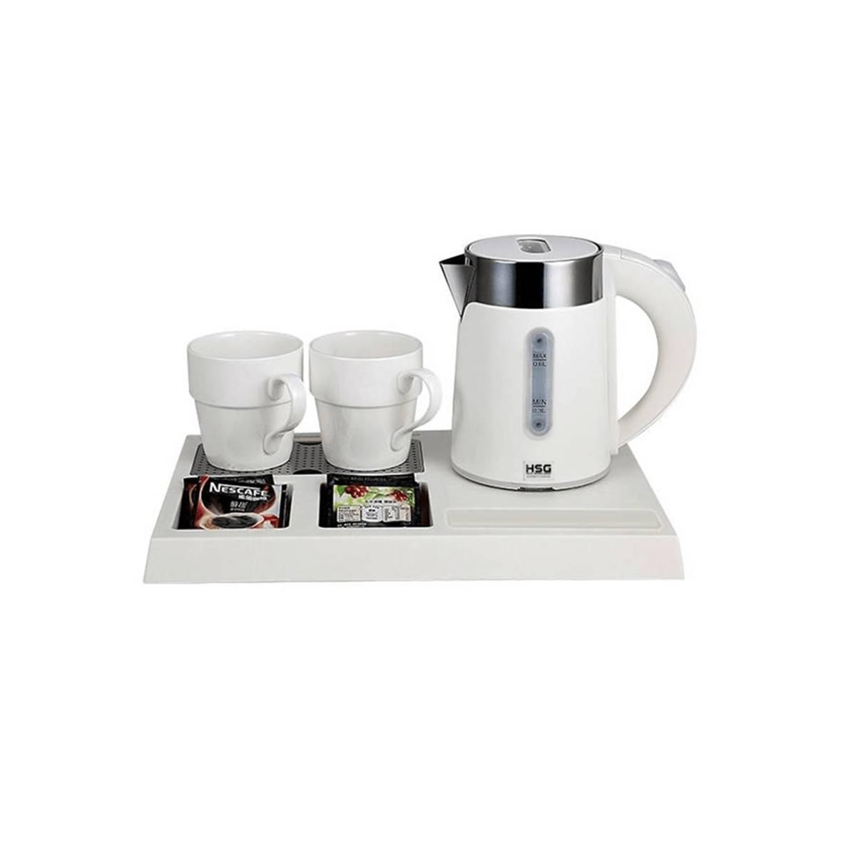 Чайная станция, набор I-H1262 White (0,6 л) для гостиниц I-H1262 white HSG