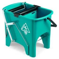 Ведро для уборки с отжимом SQUIZZY 15л (Зеленого цвета)