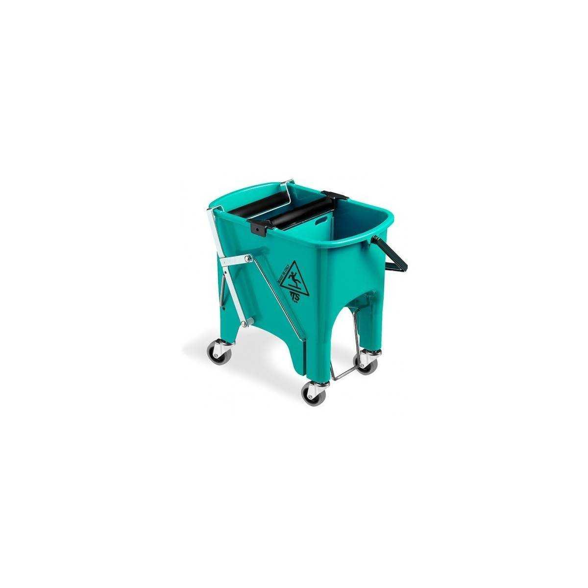 Ведро для уборки с отжимом SQUIZZY 15л на колесах (Зеленого цвета) 0V006415 TTS