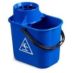 Ведро EASY с отжимом 14л (Синего цвета)