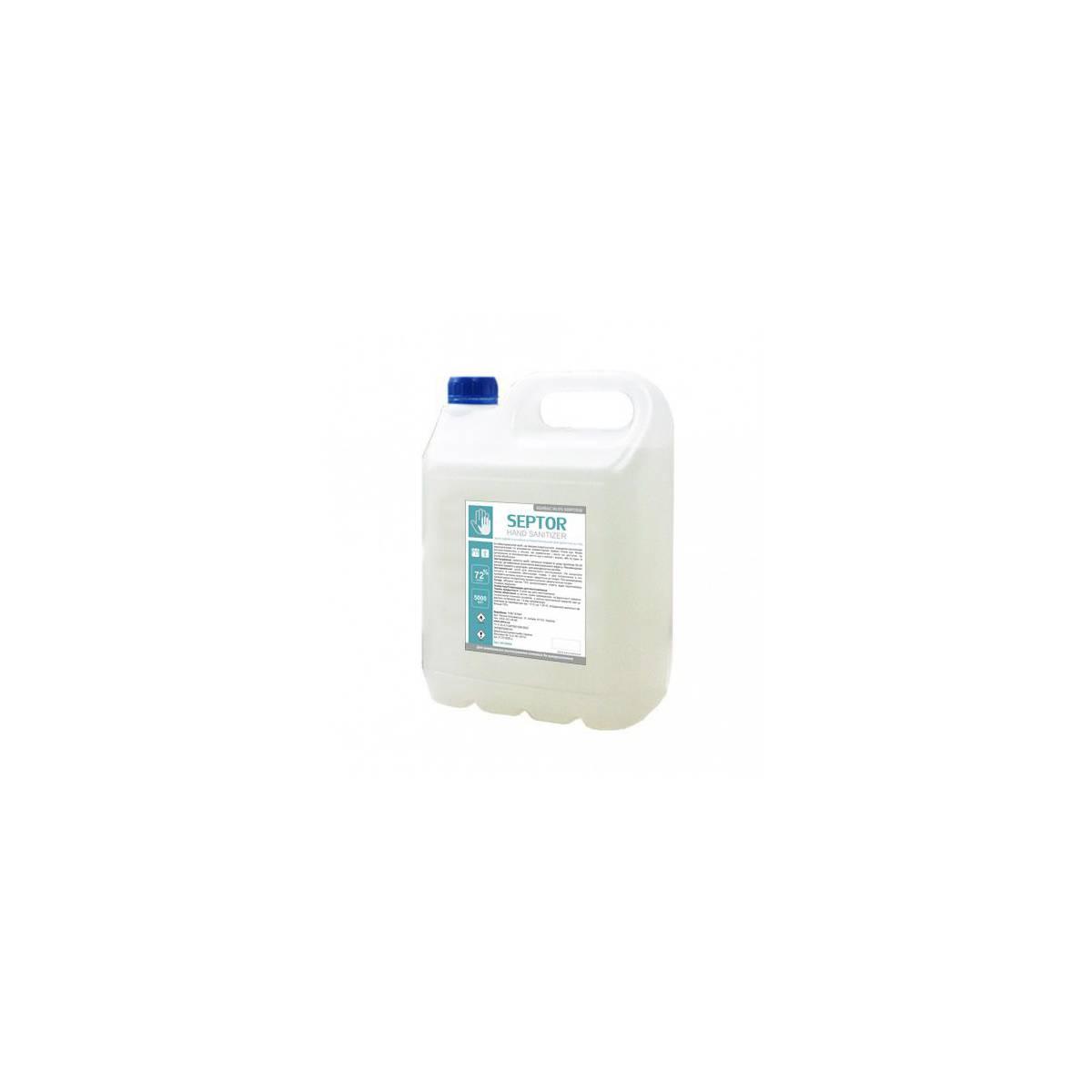 Антисептик SEPTOR 5 л, антибактериальное средство гигиеническое для кожи рук и тела HS155000 Атма