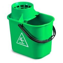 Ведро EASY с отжимом 14л (Зеленого цвета)