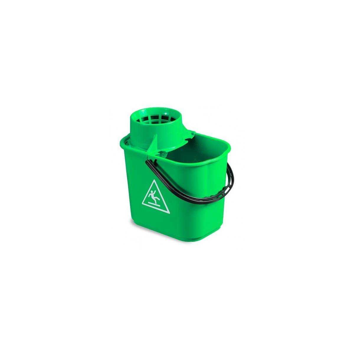 Ведро EASY с отжимом 14л (Зеленого цвета) 5042 TTS