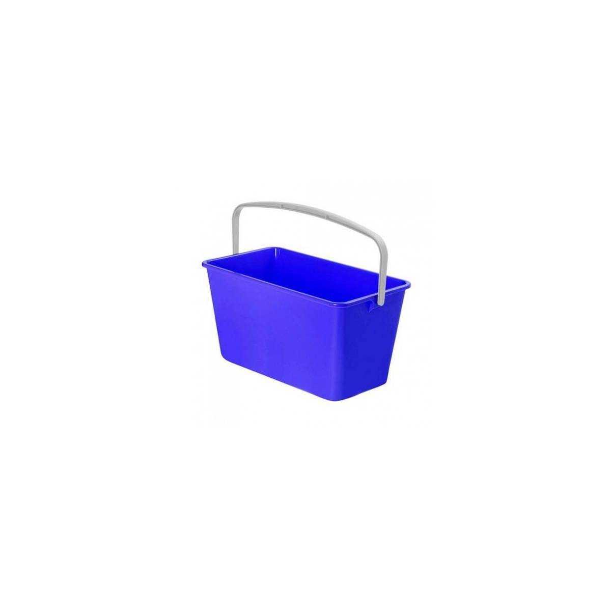Ведро для уборки с ручкой 13л (Синего цвета) 9911 TTS