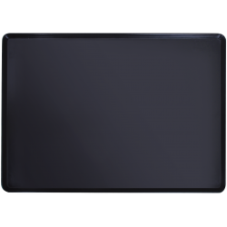 Поднос черный 292x210x18 мм, меламин E3 Service Black HSG