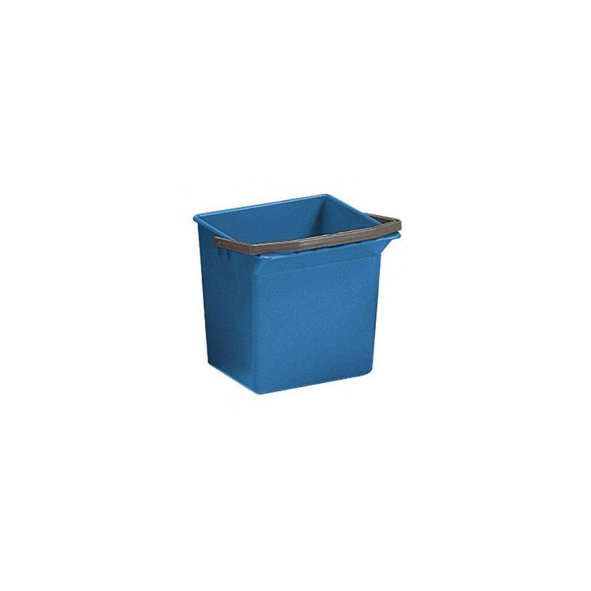 Ведро для уборки с ручкой 6л (Синего цвета) 00003503 TTS