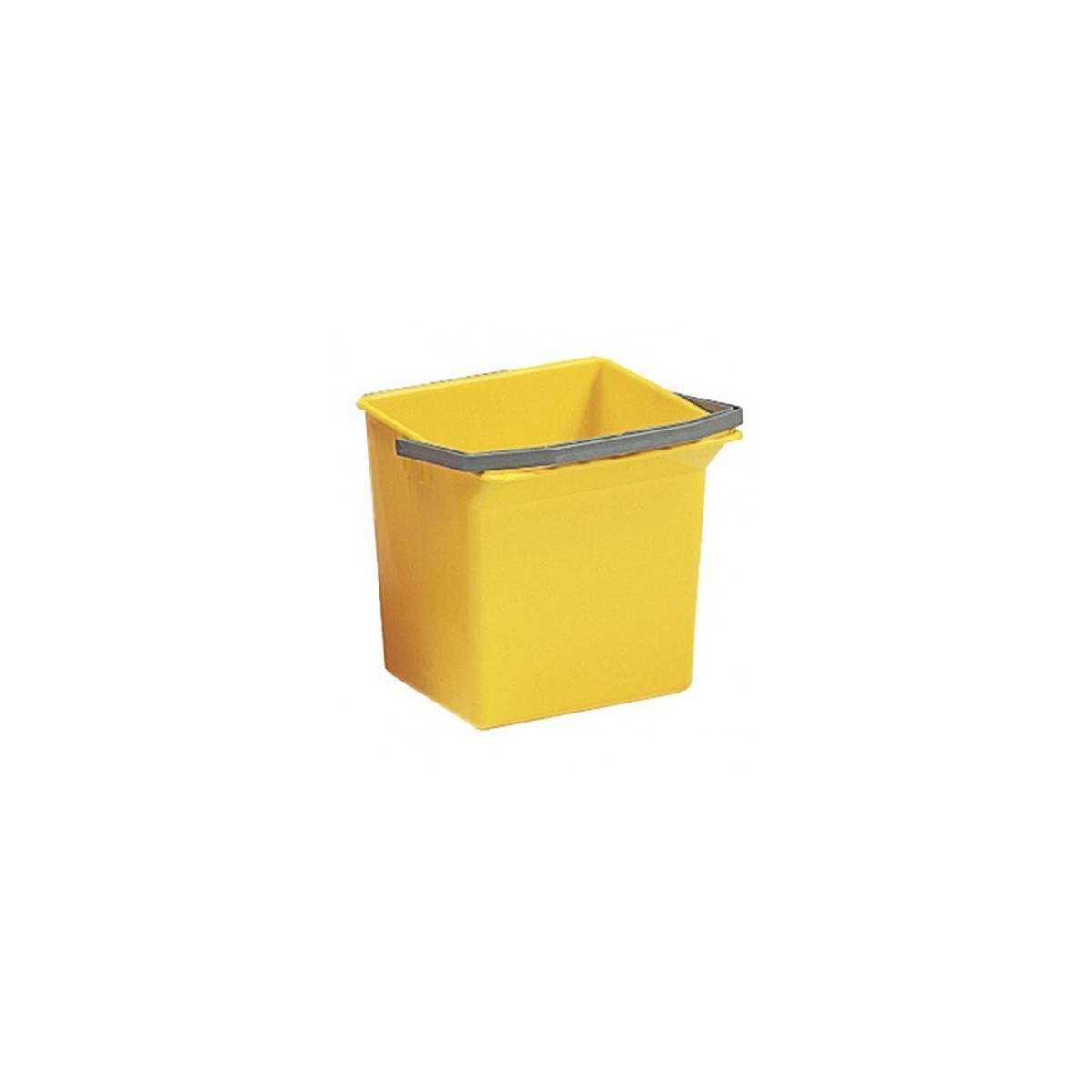 Ведро для уборки с ручкой 6л (Желтого цвета) 00003506 TTS
