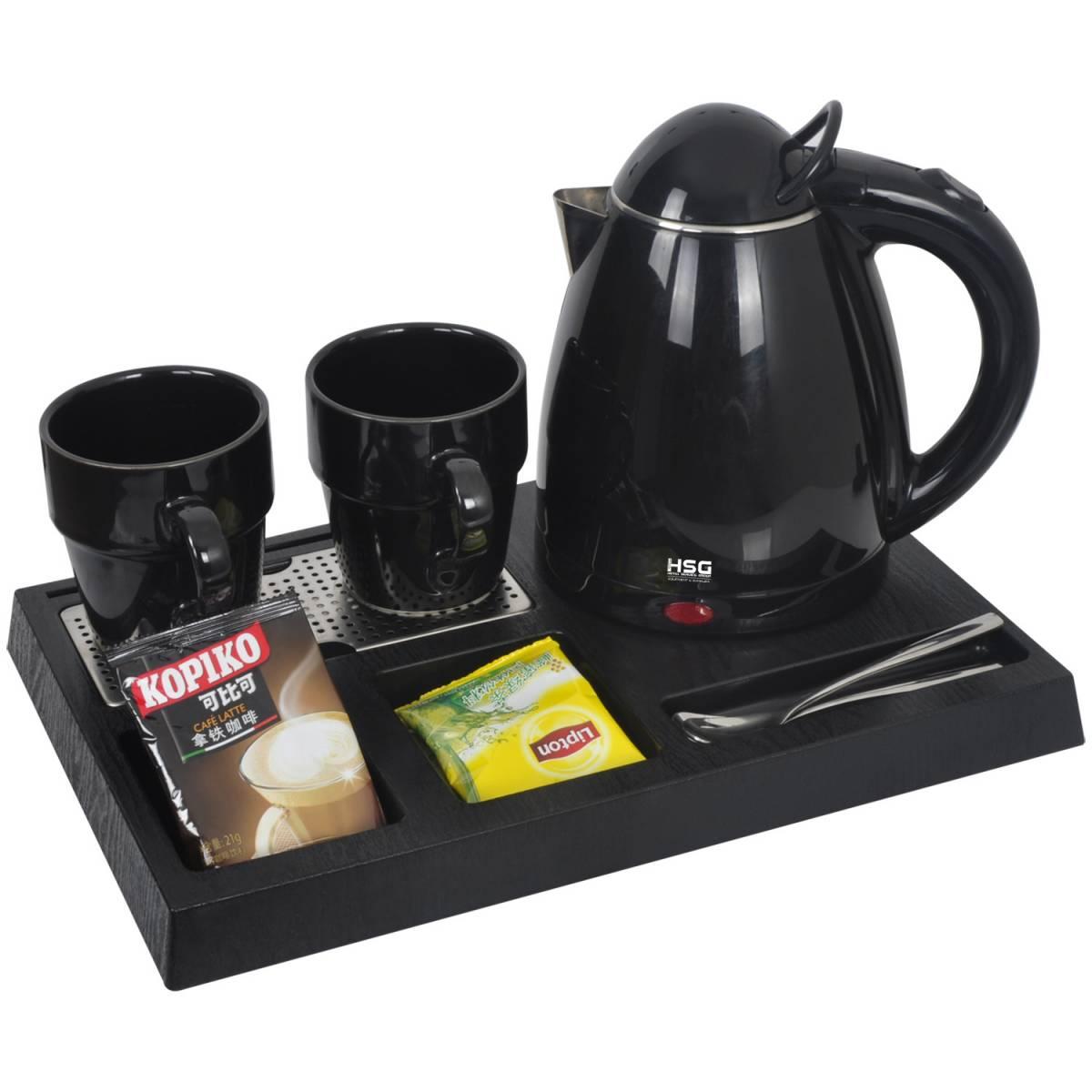 Чайная станция, набор I-H0880S Black (0.8 л) для гостиниц I-H0880S HSG