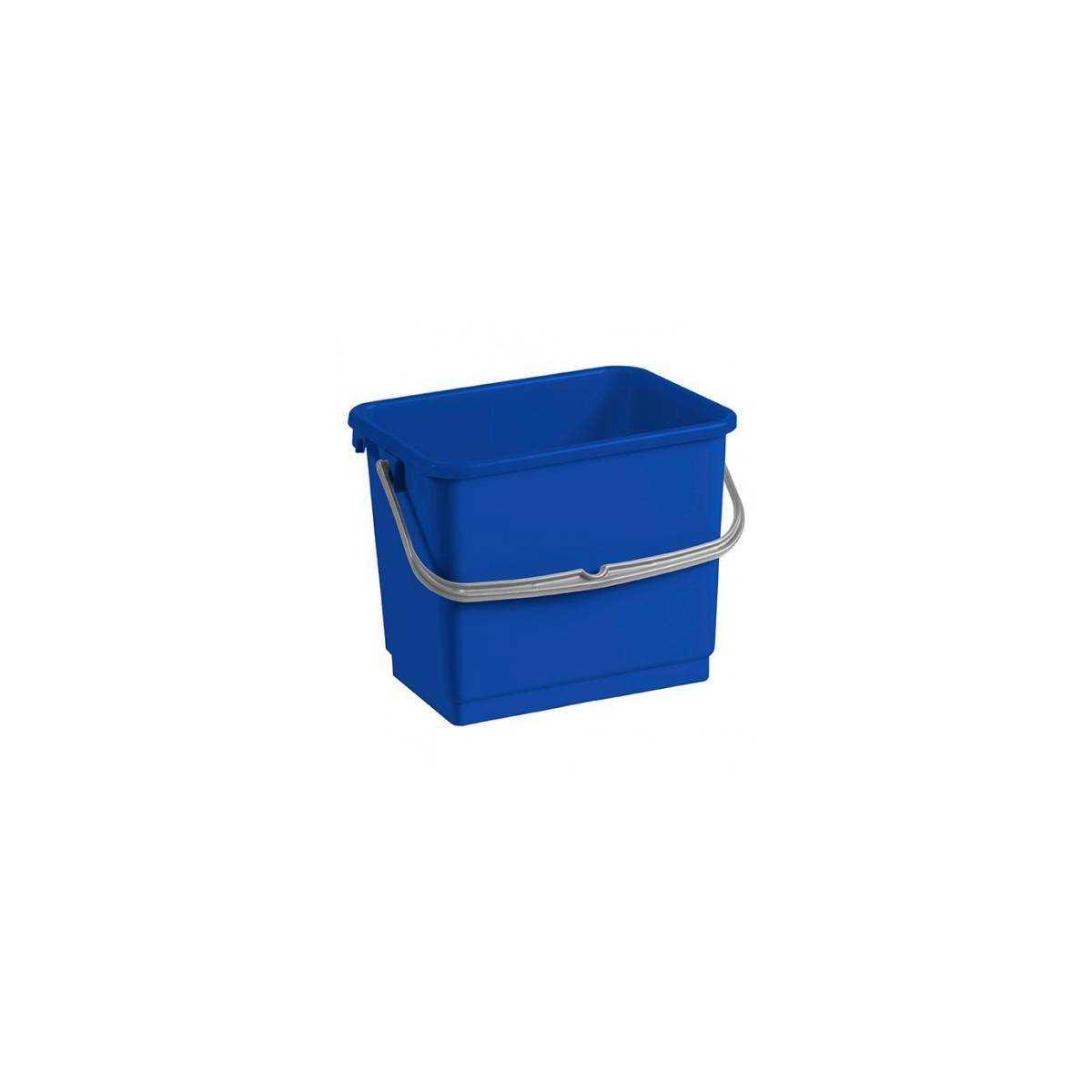 Ведро для уборки с ручкой 4л (Синего цвета) 00003362 TTS