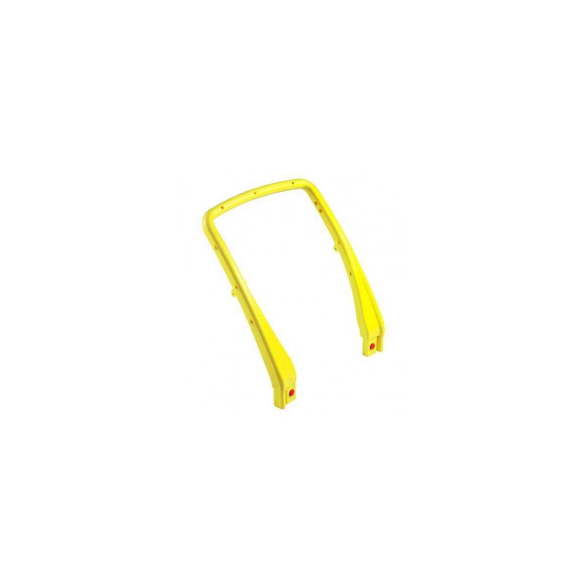 Рукоятка пластмассовая к тележке U-образная (Желтого цвета) 3310 TTS