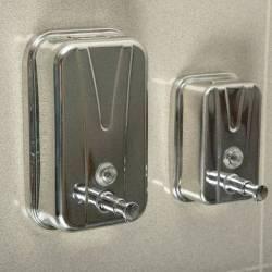 Дозатор жидкого мыла 1л, нержавеющая сталь (4711.07.100.М) 4711.07.100.М Maxiflow