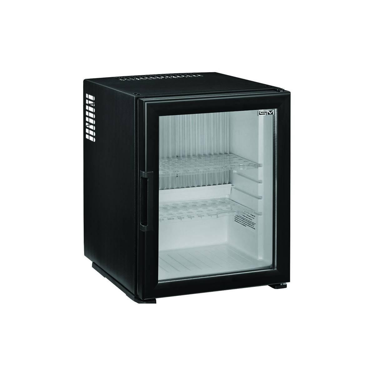 Мини-бар ISM 40 C&C Glass для гостиниц, бескомпрессорный холодильник CC40-G ISM
