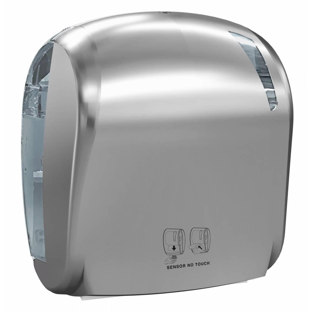 Держатель бумажных рулонных полотенец сенсорный LINEA SKIN A88510TI Mar Plast