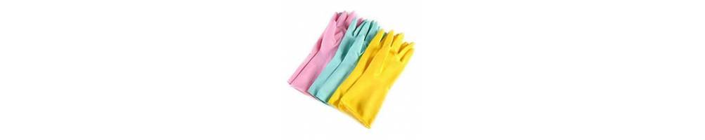 Перчатки латексные, полиэтиленовые, виниловые