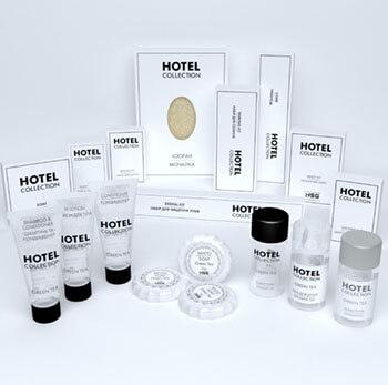 Косметика и аксессуары для гостиниц