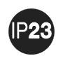 Степень защиты IP23